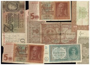 WORLDWIDE PAPER MONEY BANK NOTE COLLECTION LOT  F3