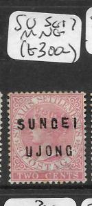 MALAYA SUNGEI UJONG (P0109B) QV 2C  SG 17  MNG