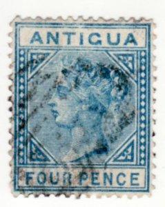 Antigua #10, Used, CV $18   ........   0260006