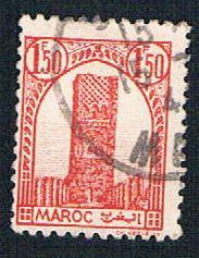 French Morocco 187 Used Tower of Hassan (BP13628)