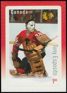 Canada Stamp #2874 - Tony Esposito (2015) $1.80