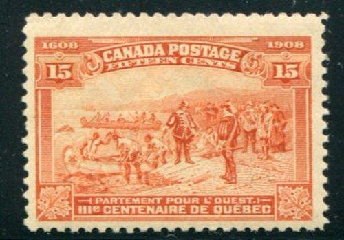 Canada #102  Mint F-VF -  Lakeshore Philatelics-   LSP102i