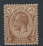 Straits Settlements George V  SG 220 Mint Hinged