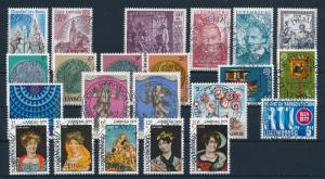 [57885] Luxembourg 1979 Complete Year Set Used