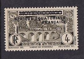 French Equatorial Africa   #13   MNH  1936   overprint  Middle Congo 4c