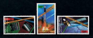 [102040] Djibouti 1985 Space travel weltraum satellite Arabsat  MNH