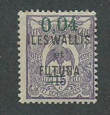 Wallis & Futuna Scott Catalog Number 31 Issued in 1922