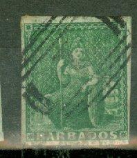 AA: Barbados 5 used CV $230