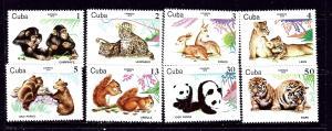 Cuba 2291-98 MNH 1979 Zoo Animals