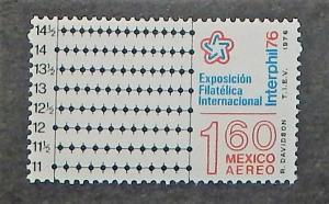 Mexico C521. 1976 Interphil '76, NH