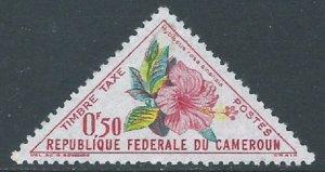 Cameroun, Sc #J34, 50c MH
