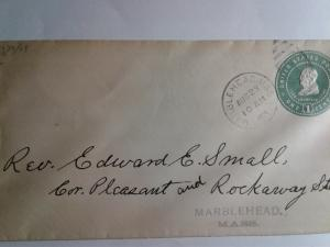 SCOTT # U 379 POSTAL HISTORY 1905