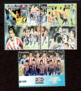 Paraguay New Issue Mint NH America's Cup Soccer 2012!