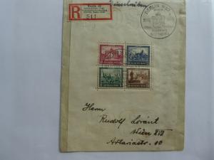 Germany Souvenir Sheet 1930   Sc# B33  CV $1800.00  APS certificate       (B#6)