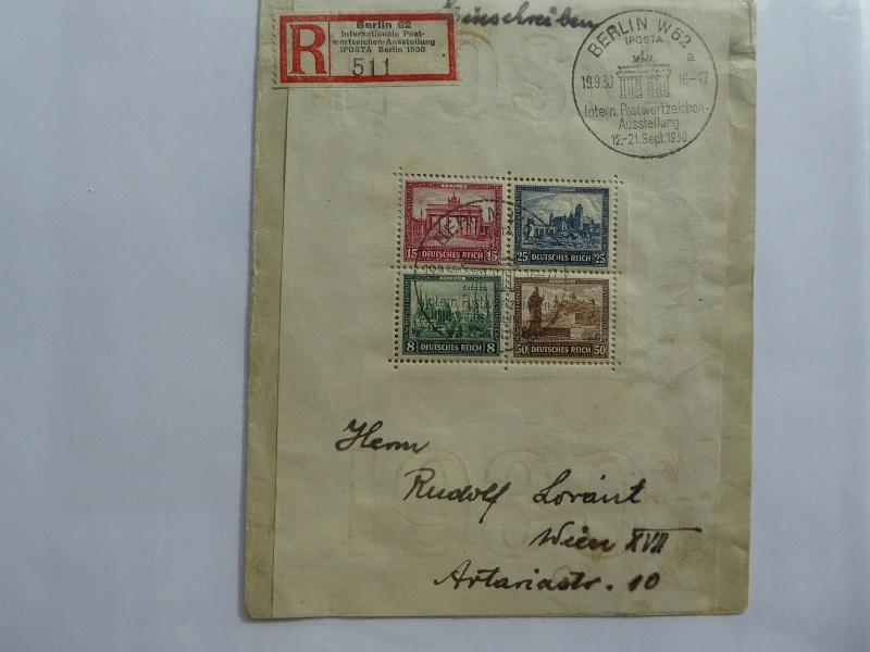 Germany Souvenir Sheet 1930   Sc# B33  CV $1800.00  APS certificate       (B#6)