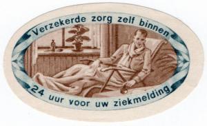 (I.B) Netherlands Cinderella : National Insurance Label (Illness)