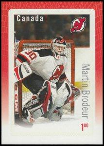 Canada Stamp #2878 - Martin Brodeur (2015) $1.80