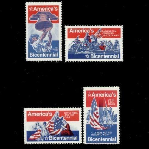 US 1976 America's Bicentennial Poster Stamps