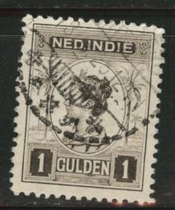 Netherlands Indies  Scott 134 used  from 1912-20 set