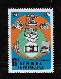 DOMINICAN REPUBLIC STAMP MNH # OCTUX17
