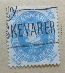 A6P22#90 Denmark 1930 25o used