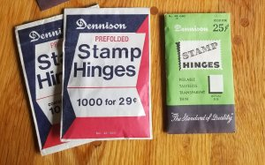 3 partial packages of Old Dennison