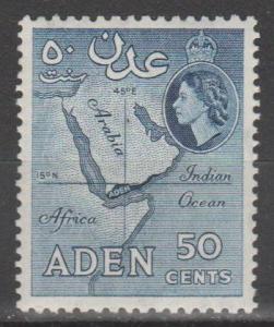 Aden #53A MNH F-VF (ST1968)