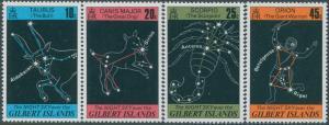 Gilbert Islands 1978 SG64-67 Night Sky set MNH