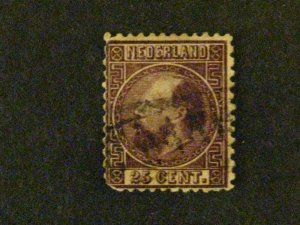 Netherlands #11 used rounded LL corner perf c203 528