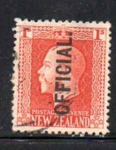 New Zealand Sc O50 1916 1/ G V Official stamp used