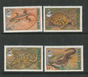Swaziland 1992 Reptiles UM/MNH SG 602/5
