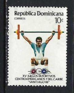 DOMINICAN REPUBLIC 974 VFU SPORTS CH2-39-8