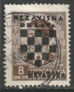 CROATIA 19 VFU 614B