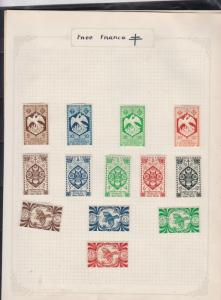 france stamps page ref 17342