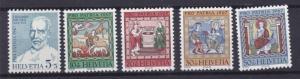 SWITZERLAND  1967  S G 746 - 750  PRO PATRIA SET OF 5  MNH