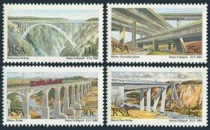 South Africa 634-637,MNH.Michel 651-654. Bridges 1984.Bloukrans River,Durban,