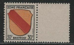 Germany - under French occupation  Scott # 4N10, label in size of stamp, mint nh