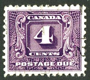 CANADA #J8 USED