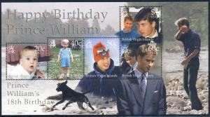 Br Virgin Is 2000 Sc 929 Prince William Birthday Stamp MNH