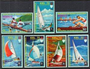 Equatorial Guinea 72104-72111 Summer Olympics MNH VF