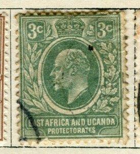 BRITISH KUT; 1907 early Ed VII issue fine used 3c. value