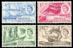 Tristan da Cunha 1969 Scott #124-127 Mint Never Hinged