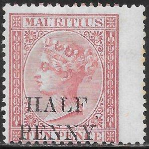Mauritius 46 Unused/Hinged - Victoria