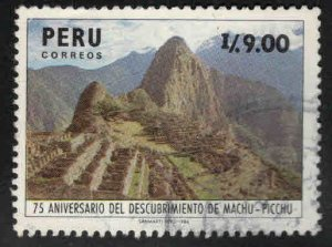 Peru  Scott 926 Used Machu-Picchu stamp
