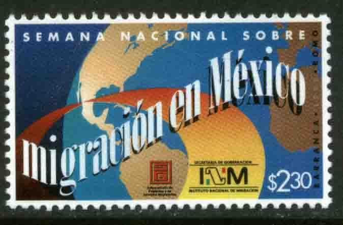 MEXICO 2102, National Migration Week. MINT, NH. VF. (69)