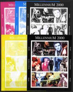 Turkmenistan 1999 Millennium Personalities (Films & S...