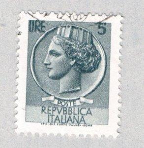 Italy Italia slate 5c 1 (AP130219)
