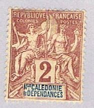 New Caledonia 41 MLH Commerce 1892 (BP33313)