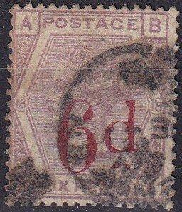 Great Britain #95  F-VF Used  CV $150.00 (Z9109)