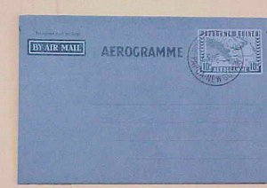 PAPUA NEW GUINEA  AIR LETTER 1940's
